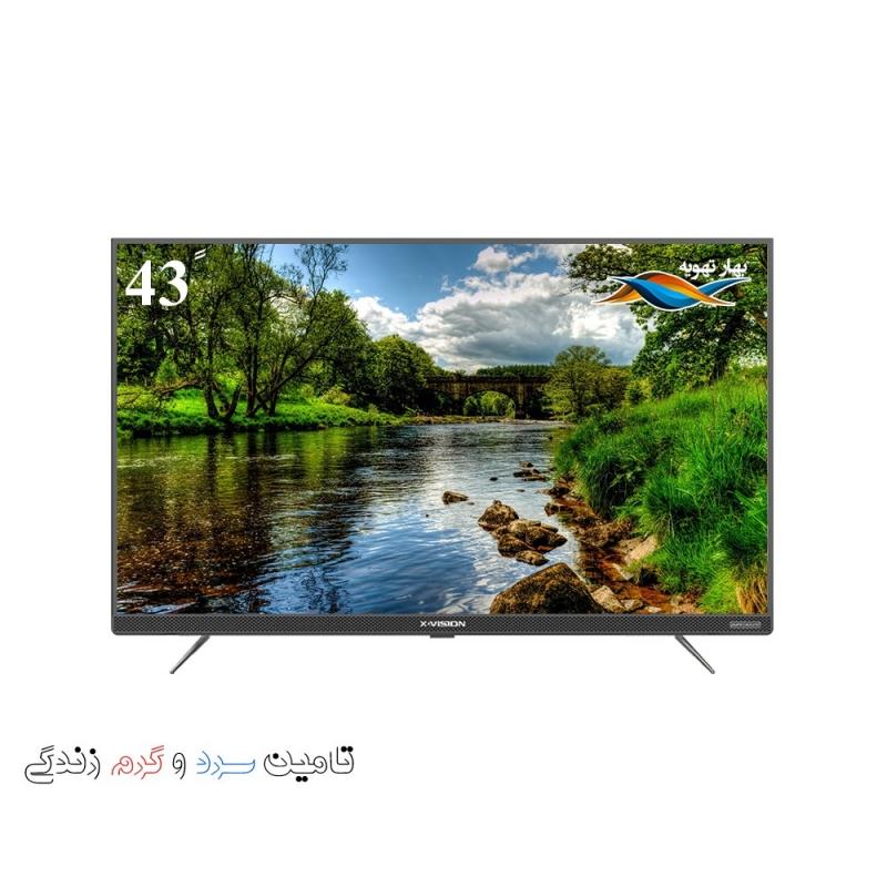 تلویزیون ال ای دی هوشمند ایکس ویژن مدل 43XT745
